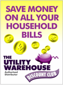 Save money with Utility Warehouse